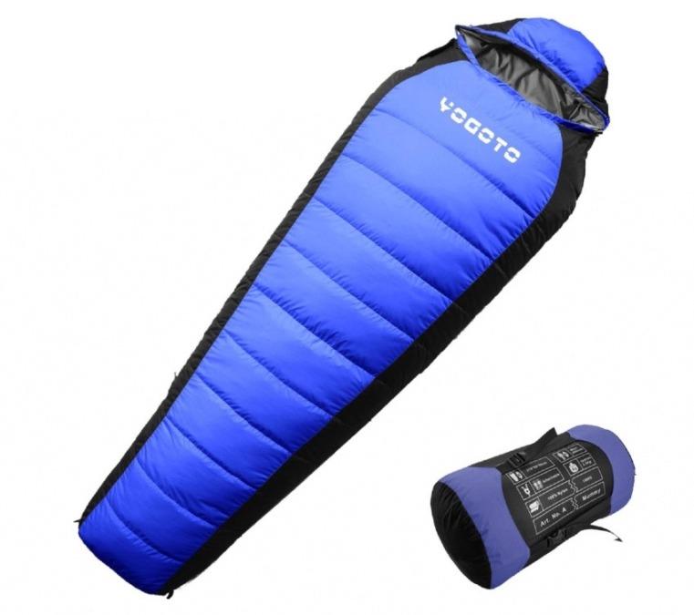 冬到来!真冬用のコスパの良い寝袋!