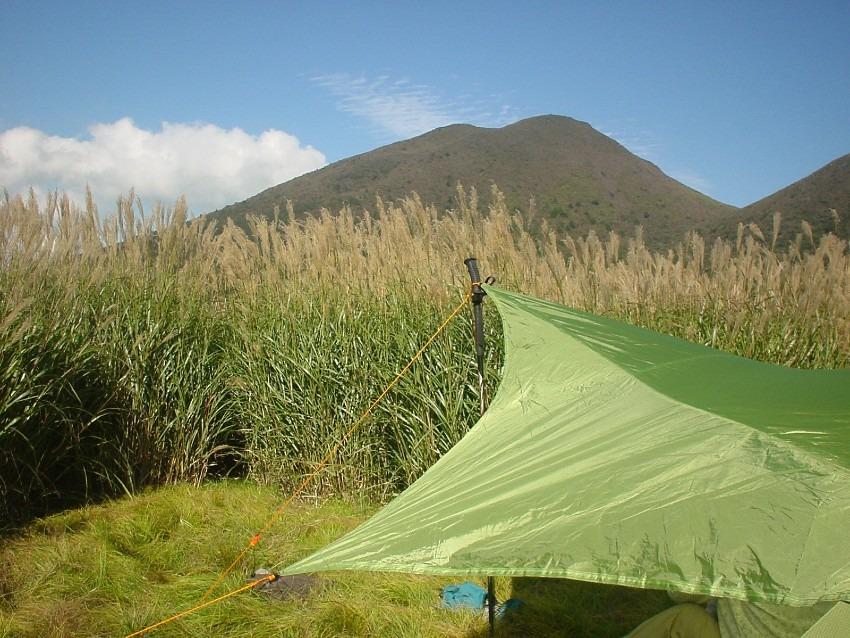 あこがれの九重でテント泊!坊ガツルキャンプ場は温泉も満喫