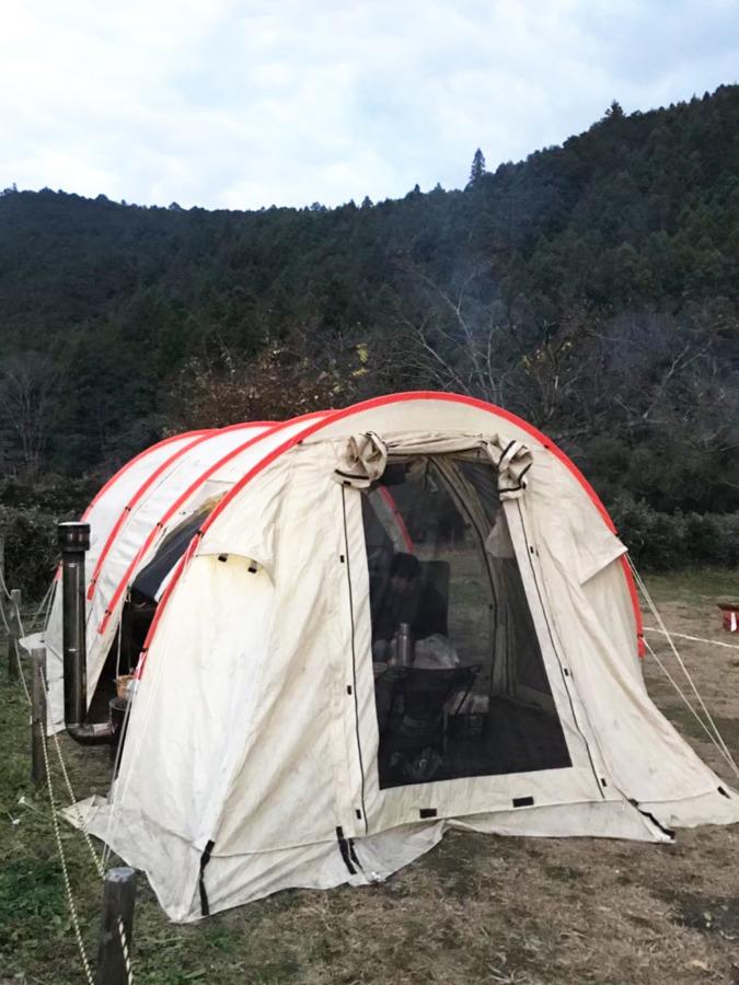 DODかまぼこテントで薪ストーブを使おう!