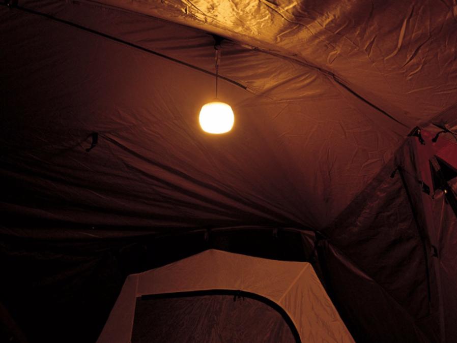 キャンプだけでなく家のランプとしても!snowpeakのほおずきランタン!