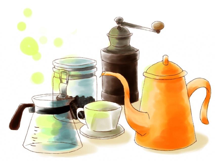 家でもアウトドアでも使えるコーヒーミルの定番![ポーレックス]コーヒーミルミニ