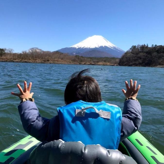 【キャンプ場レポ】精進湖キャンピングコテージでカヤックキャンプ!