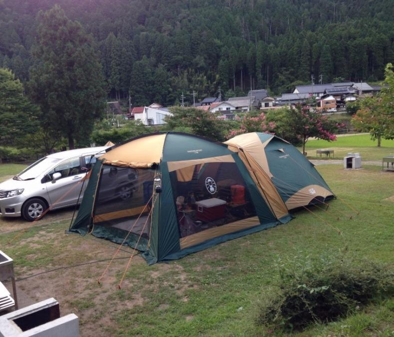 テントとタープの連結をキャンプ初心者にはおすすめしない理由!