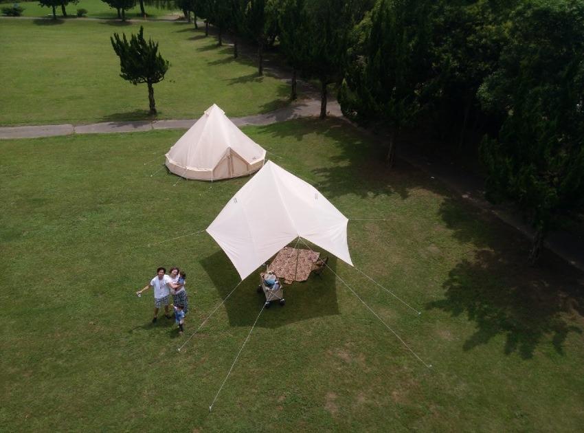 テントを買ったらキャンプの前にデイキャンプで試し張りをしよう!