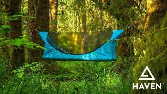 ソロキャンプにおすすめ、ヘブンテントが革新的!【ハンモック×テント】